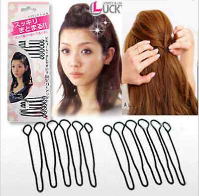 Hot Women Hair Accessories Braid Tool Hair Twist Styling Clip Stick Bun Maker
