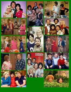 THREE'S COMPANY 13 PHOTO FRIDGE MAGNETS