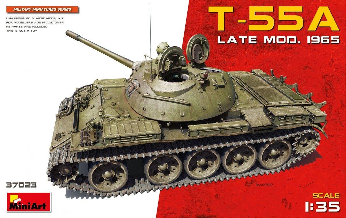 Miniart 1 35 T-55A Late Model. 1965