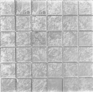 Glasmosaik-Fliese-silber-struktur-Duschwand-Fliesenspiegel-Kuechenwand-68-4SB21