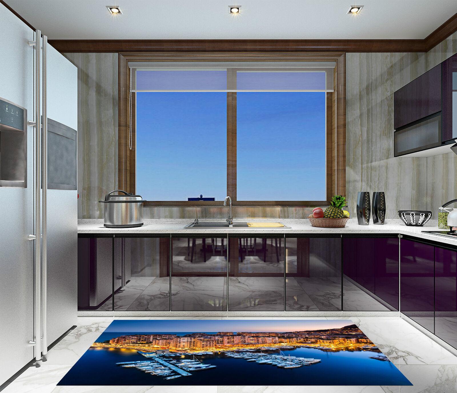 3D Belle Ville Mer 414 Décor Mural Murale De Mur De Cuisine AJ WALLPAPER FR