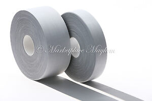 FREE P/&P 10 MTRS HI VISIBILITY REFLECTIVE SEW ON TAPE 50MM