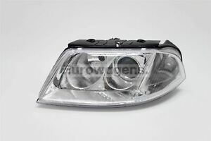 VW-Passat-00-05-Chrome-Headlight-Headlamp-Left-Passenger-Near-Side-N-S