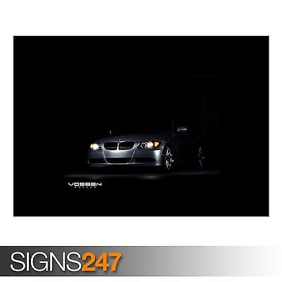 Photo Picture Poster Print Art A0 to A4 BMW CV1 TEASER AA511 CAR POSTER