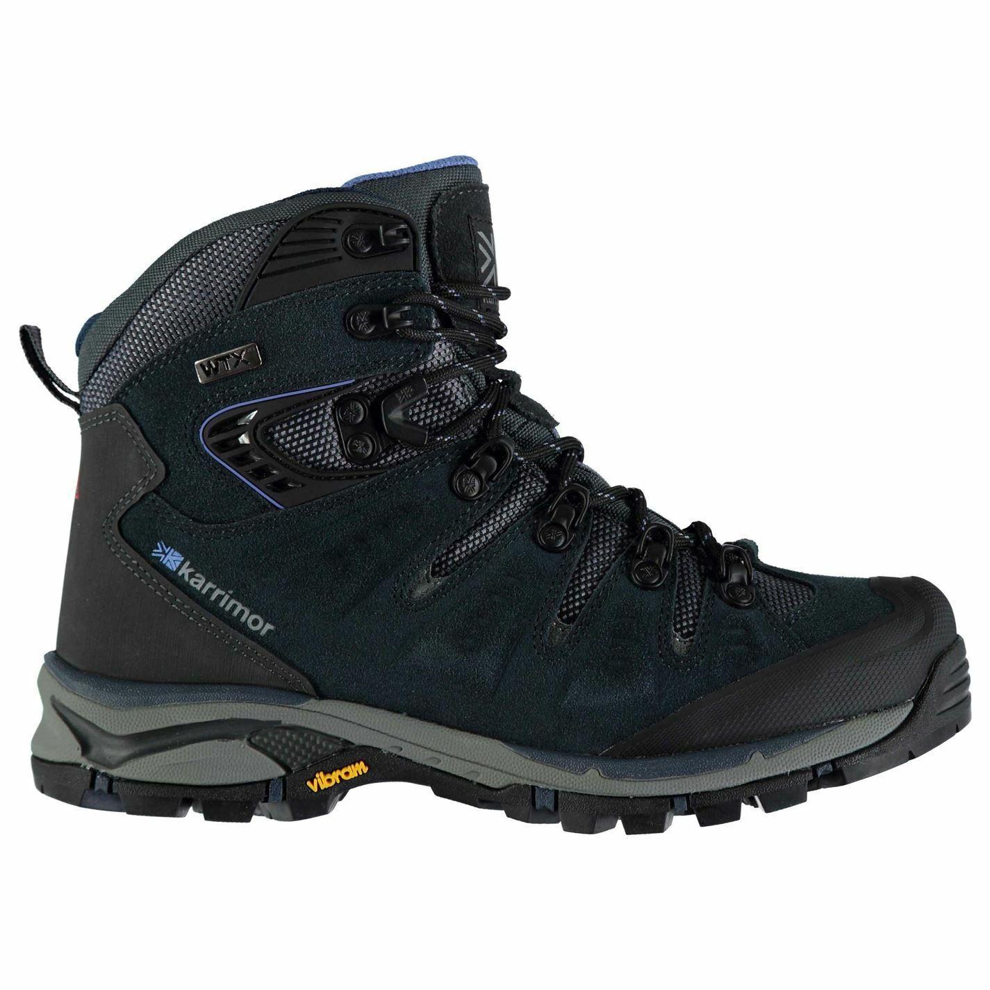 Karrimor Leopard WTX Walking Boots Womens bluee Hiking Trekking shoes Footwear