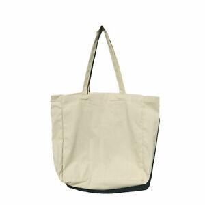 aad97ca5f3c Details about Bag Tote Plain Shopping Shoulder Canvas Shopper Cotton Gift  Eco Carry Reusable