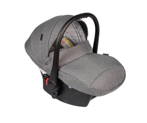 Babyschale Exklusiv belastb.von 0-13kg in Leinenstoffen,Autobabysitz,Kinderwagen