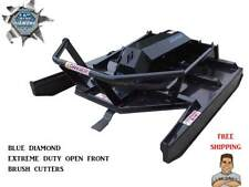 Blue Diamond Extreme Duty Open Front Brush Cutter For Skid Steer Loader