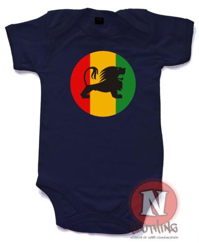 Naughtees clothing Rasta Löwe Reggae Logo aus 100/% Baumwolle Neu