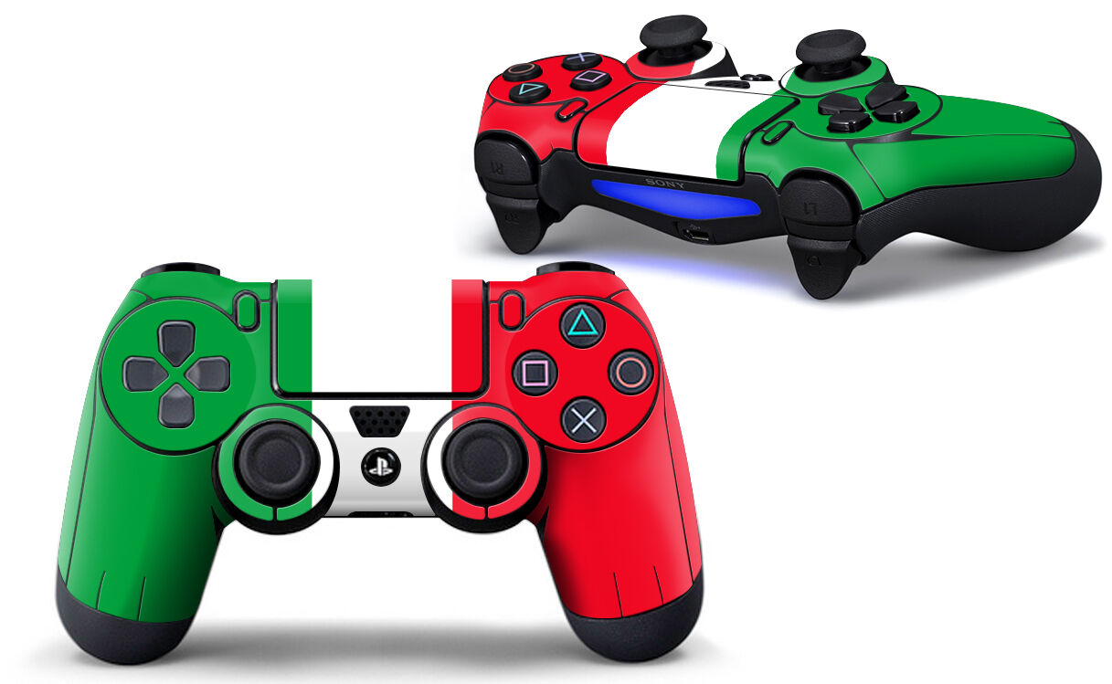 Sony PS4 PLAYSTATION 4 Controller Skin Screen Set (2 Piece) - Italy Motif