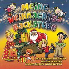 """Kinder Audio-CD """"Meine Weihnachts-Backstube""""  (""""In der Weihnachtsbäckerei"""" uvm.)"""