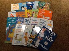 Lot 20 Hardcover Dr. Seuss Books Hop POp Cat Hat