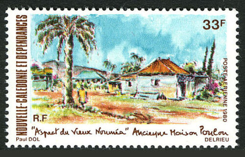 New Caledonia C167, MNH. View of Old Noumea, 1980