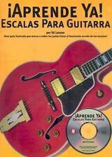 Aprende Ya! a Tocar Escalas para Guitarra by Ed Lozano (2004, CD / Paperback)