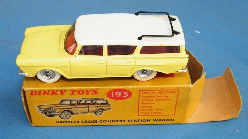Dinky Toys 193 Rambler Cross Country Station Wagon Original VNMIB
