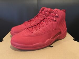 cf8109dc SHIP NOW Nike Air Jordan 12 XII Retro Bulls Toro 8-14 Gym Red Black ...