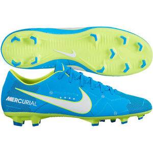 7e5d08f6da9 Nike Mercurial Victory VI FG Neymar NJR 2017 Soccer Shoes Blue Kids ...