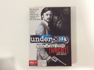 Underbelly-A-Tale-of-Two-Cities-Uncut-4-Disc-Set-R4-Excellent-Condition