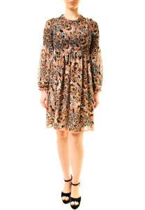 f73ceeb0606 For Love   Lemons Women s Gracie Shirred Mini Dress Multi RRP £207 ...