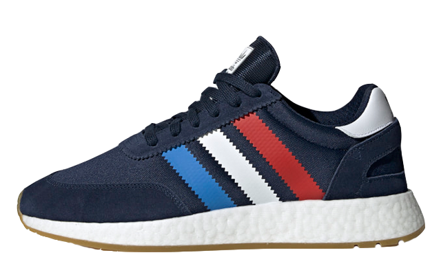 new photos latest get new NEW Adidas Originals I-5923 Navy Red White Blue BOOST Mens Running Shoes  BD7814