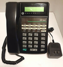 Zultys Zip 4x4 Office Business Phone Black 4 Line
