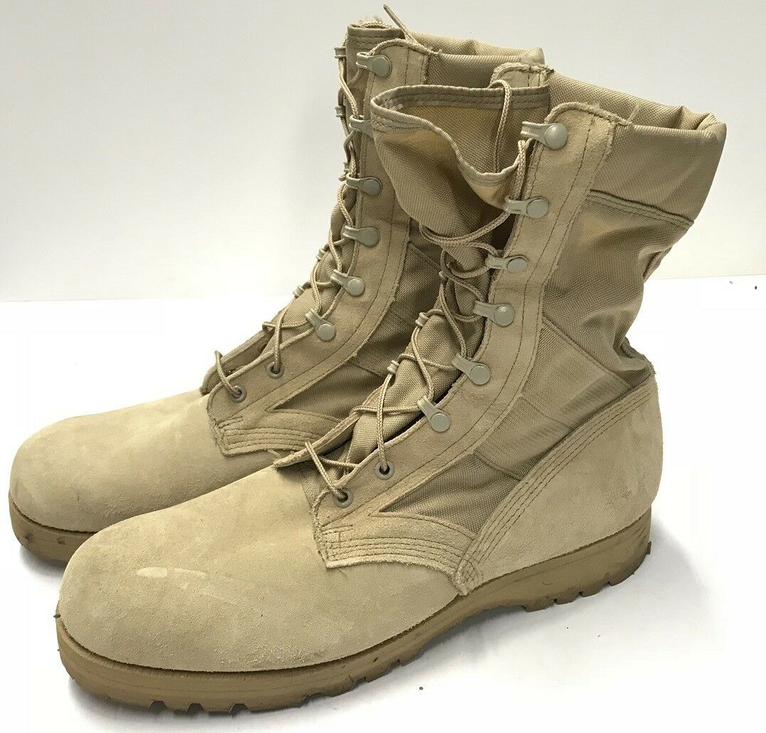 US Army Combat Infantry Crewman Outdoor Stiefel Stiefel ACU Tan US 12.5R Gr.45.5