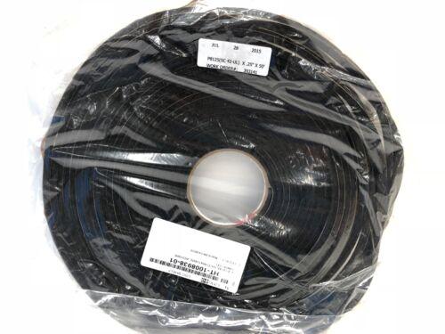 "50 Ft x 1//4/"" Single Sided Self Adhesive Neoprene Foam Tape P8125 SC42-UL"