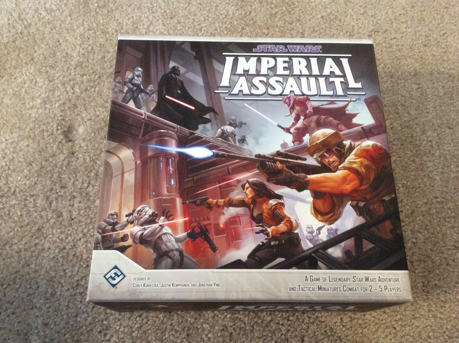 Star Wars Juego De Combate Miniatura De Asalto IMPERIAL Nuevo ENLOMADOR