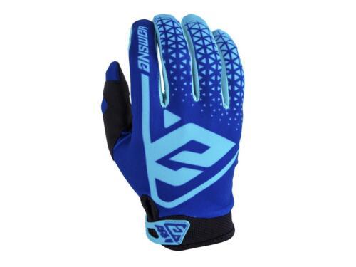 Astana Gants motocross ANSWER AR1 Reflex bleu