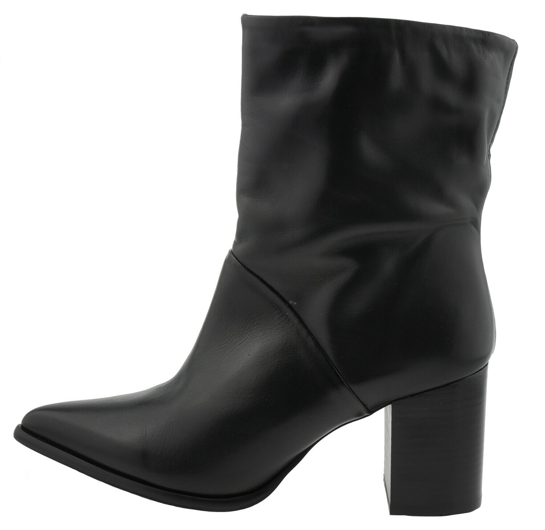 Bianco 30-48872 Schlupf Stiefeletten Leder black 180442