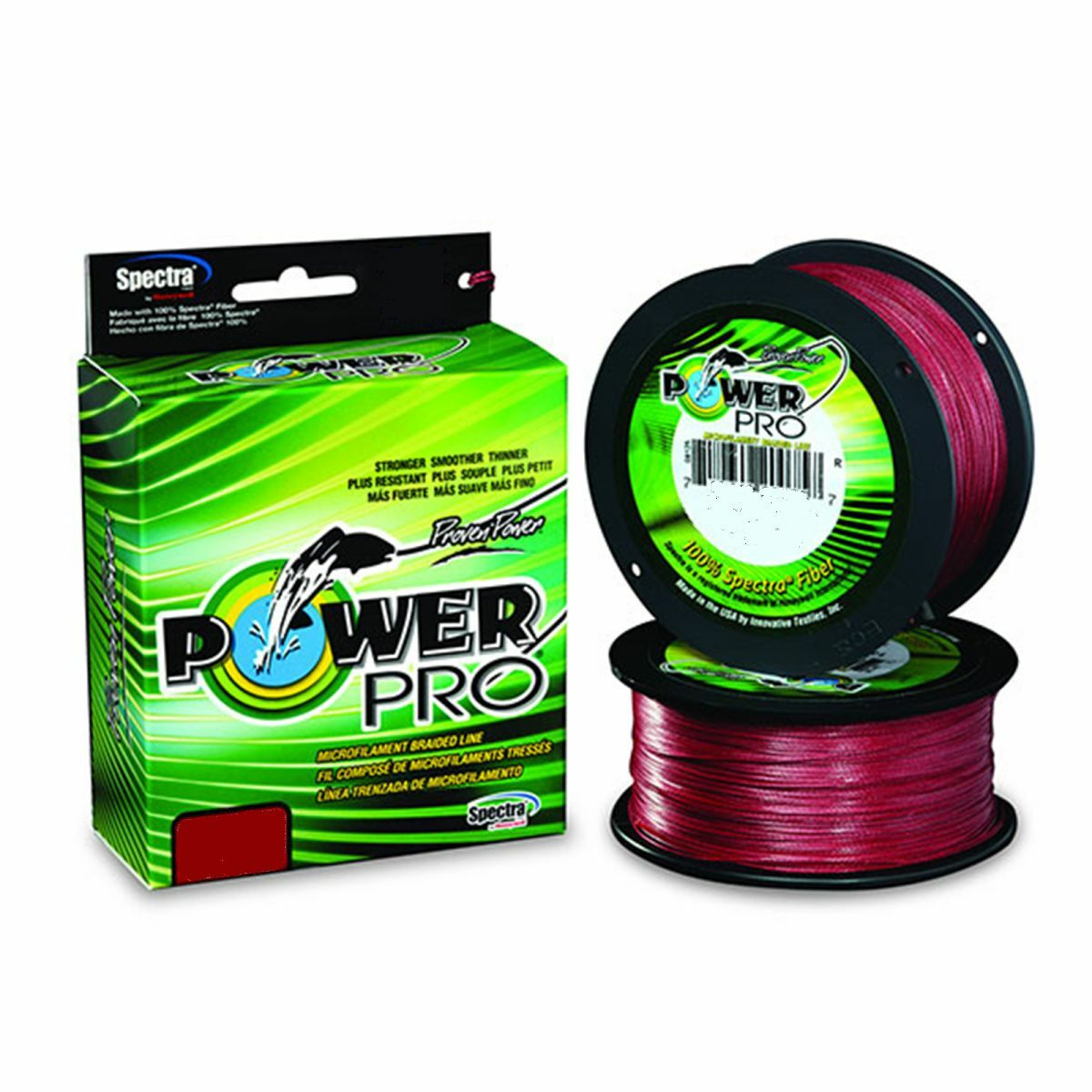Power Pro Fishing Line Red 65lb by 500 yards New