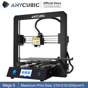 ANYCUBIC I3 Mega S 3D Drucker Kit mit größerem Druckbereich und 3,5''TFT PLA ABS
