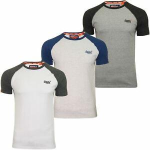 Superdry-Mens-039-Baseball-039-Raglan-Short-Sleeved-T-Shirt