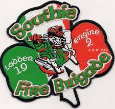 "Boston  Engine-2 / Ladder-19  ""Southie Fire Brigade"", MA (4"" x 4"") fire patch"
