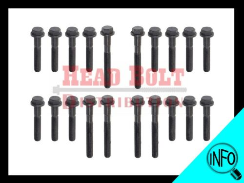 Fit Land Rover 40D 42D 46D V8 Engine Cylinder Head Bolt Set Full Kit 20 pieces