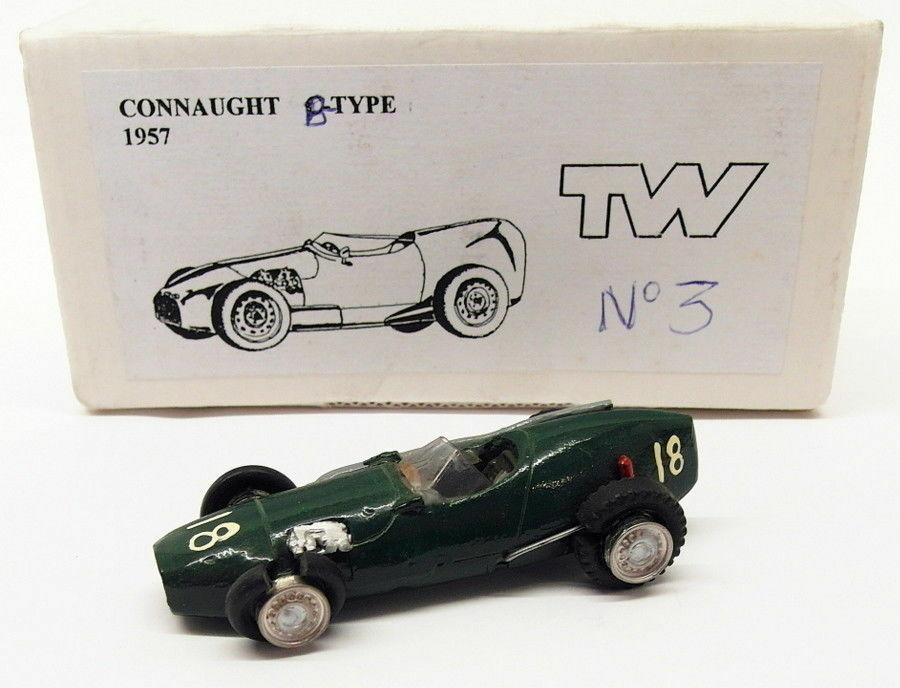 TW Collection 1 43 Scale White Metal Kit 3 - Connaught B Type 1957 -