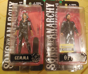 Sons of Anarchy Gemma & Opie  Winston 6 Inch Action Figures EE Exclusive New