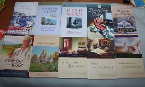 Lot-of-10-Guideposts-Grace-Chapel-Inn-Minister-039-s-Wife-Sparrow-Island-MORE