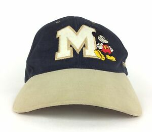 3a8e9e85789 Image is loading Vintage-Disneyland-Mickey-Mouse-Baseball-Cap-Hat -Adjustable-