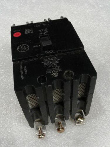 TEY390 GENERAL ELECTRIC CIRCUIT BREAKER 3 POLE  90 AMP 277//480 VAC NEW!