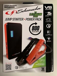 Schumacher-Vehicle-Car-Jump-Starter-Power-Pack-800-Amps-USB-Charger-SL1315-New