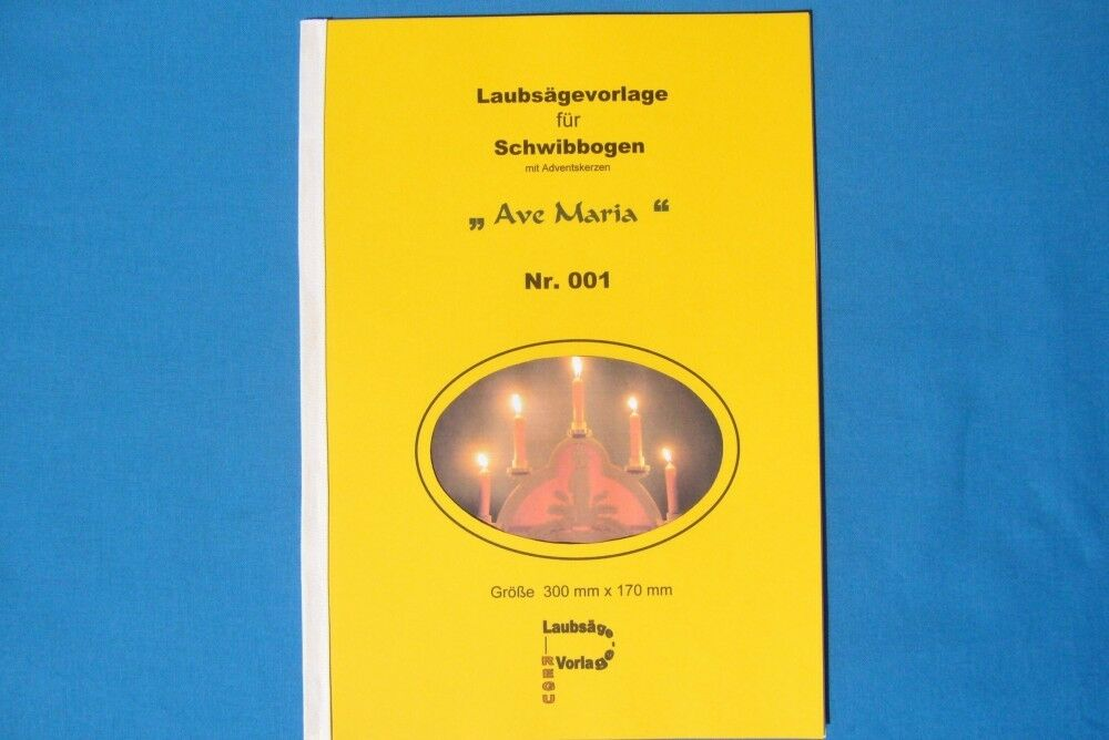 REGU - Laubsägevorlage Schwibbogen