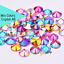 Acrylic-Crystal-Rhinestones-Pearls-Bead-Flat-Back-MIX-3-SIZES-Nail-Art-Gems thumbnail 9