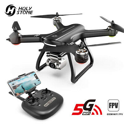 Holy Stone HS165 GPS FPV Drones with 2K FHD Camera 5G Quadcopter 3 Battery CASE