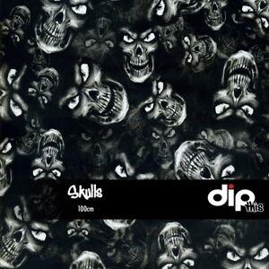 Skulls-Hydrographics-Film-100cm-Hydro-Dipping-FOLDED