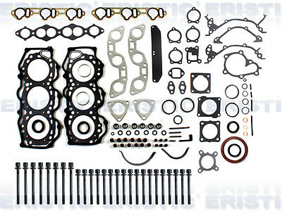 Fits 94-98 Nissan Quest Mercury Villager 3.0L Full Gasket Set Head Bolts VG30E