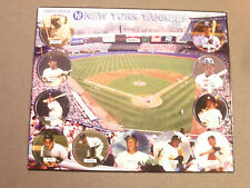 NEW YORK YANKEES POGS MANTLE, RUTH, FORD, BERRA CARDED 1x11 SHEETS OF (11) POGS
