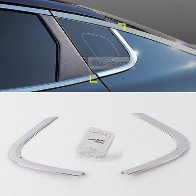 Chrome Silver Window Under Line Sill Trim Molding Garnish forKIA 16-18 Optima K5