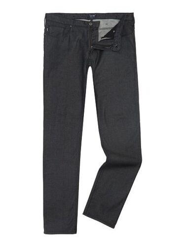 Sz X Fit Armani Hommes Bnwt Slim 34l Noir J06 Jeans W40 wYpUqFpZx