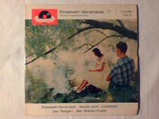 """GUNTHER KALLMAN-CHOR Elisabeth serenade 7"""" ep GERMANY RARISSIMO VERY RARE!!!"""